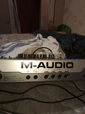 M-audio keyboard you hook to computer for Sale in Fairfield, AL