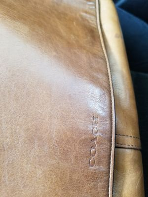 Coach leather messenger bag for Sale in Seminole, FL