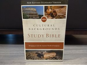 Cultural Backgrounds Study Bible NRSV for Sale in Lake Wales, FL