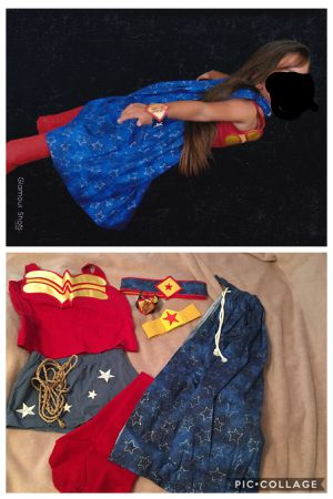 Halloween Costume Wonder Woman $10 for Sale in Riverview, FL