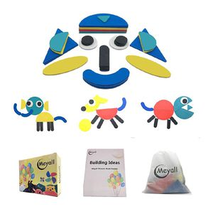 MEYALL Wooden Pattern Block Sets Animals Jigsaw Puzzle Shapes for Sale in North Miami Beach, FL