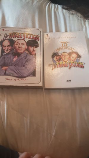 Three Stooges 7 DVD Bundle! for Sale in Corona, CA
