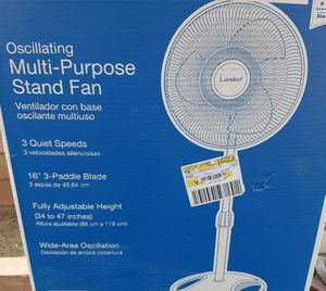 Lasko oscillating Multi-Purpose Stand Fan for Sale in City of Industry, CA