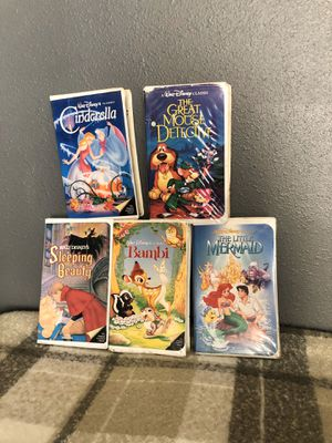 Disney classics black Diamond vhs for Sale in Compton, CA