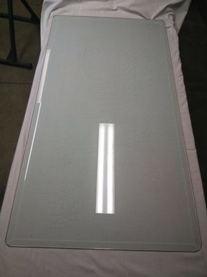 26 x 48 Beveled Edge Glass Coffee Table Top PRICE is FIRM for Sale in Las Vegas, NV