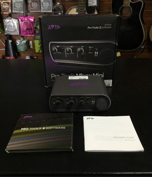 AVID Pro Tools MBox Mini USB Audio Interface W/ Pro Tools LE Software for Sale in La Verne, CA