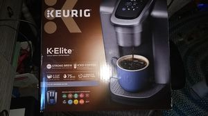Brand new K-Elite Keurig for Sale in Aurora, CO