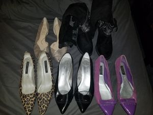 5 pairs of shoes for Sale in Columbus, OH