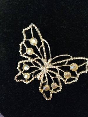 Beautiful butterfly pin with bling for Sale in NEW PRT RCHY, FL