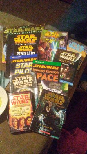 Star Wars book collection for Sale in Butte, MT