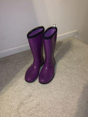 Purple rain boots!!! for Sale in Chesapeake, VA