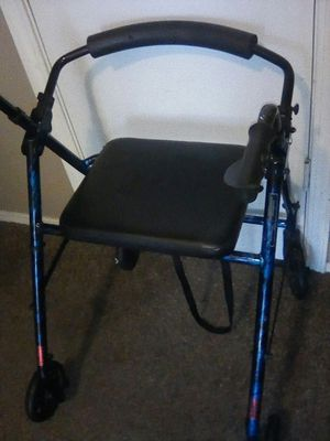 Walker with seat and wheels for Sale in Fresno, CA