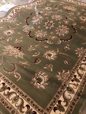 New rug size 8x11 nice green carpet Persian design rugs and carpets for Sale in Lorton, VA