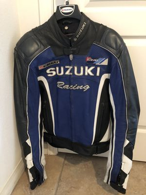 Leather Suzuki Motorcycle Jacket for Sale in San Diego, CA