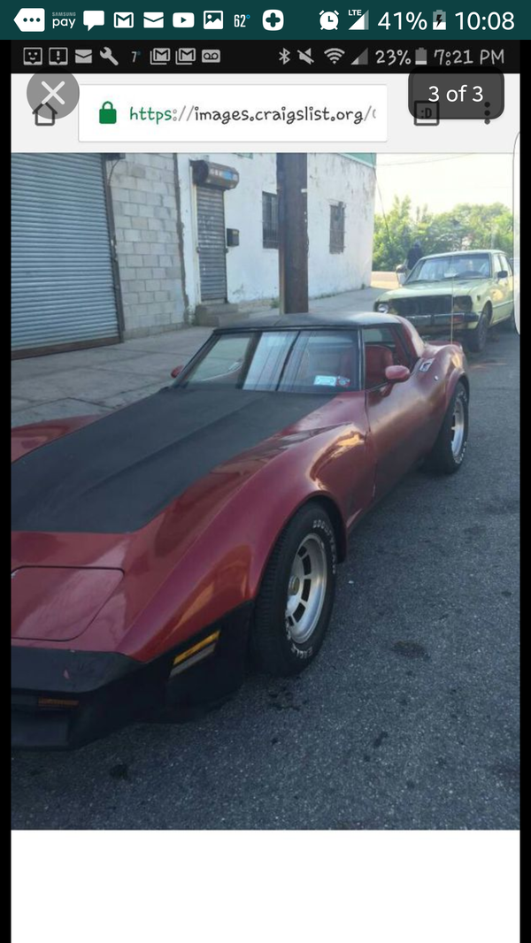 81 Chevy Corvette