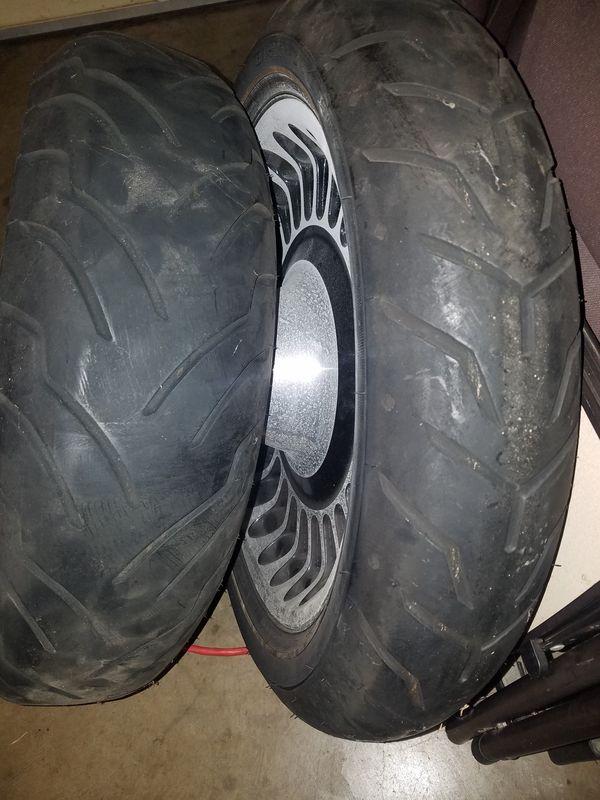 Harley-Davidson tires