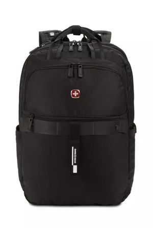 "SwissGear 15"" Laptop Backpack USB Scan Smart TSA Friendly SA3670 Airflow, Black for Sale in Staten Island, NY"