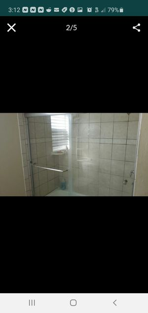 Free Shower glass doors for Sale in Castro Valley, CA