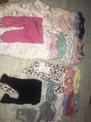 a 24 piece bundle (baby girls clothes ) for Sale in Fort Worth, TX