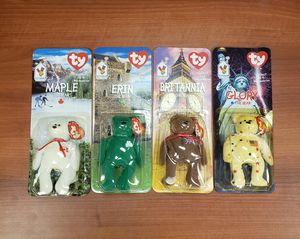 *WITH ERRORS* ty Beanie Babies Ronald McDonald House Full Set of 4 for Sale in Clearwater, FL