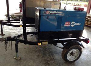 Miller Trailer Blazer 302 Diesel Welder/ Generator on Trailer for Sale in Riverview, FL