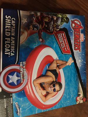 Captain America shield float for Sale in Nashville, TN