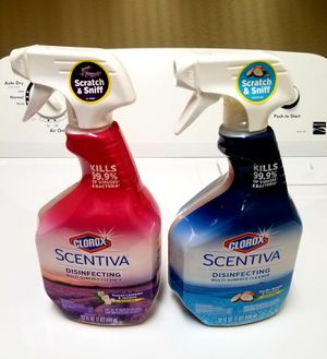 Clorox Scentiva Disinfectant Multisurface Spray for Sale in Raleigh, NC