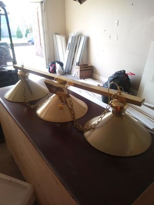 Pool/game table light for Sale in Lexington, KY