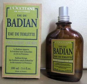 Men's, Genuine Made in France, L'Occitane en Provence Eau du Badian by L'Occitane en Provence for Sale in San Diego, CA