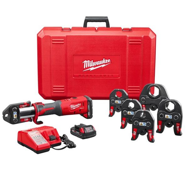 Milwaukee 2773-22 M18 14.1 Inch Lithium Ion Brushless One Hand Press Tool Kit
