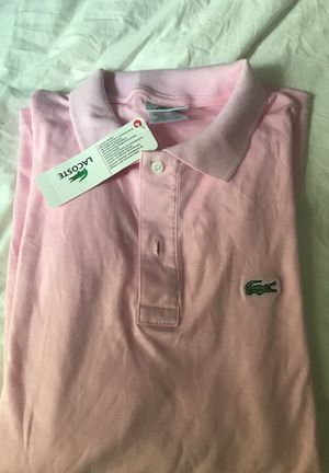 Men's size L Lacoste polo shirt brand new for Sale in Fairfax Station, VA