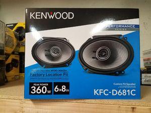 NEW!!! Kenwood 6x8 Speakers for Sale in Phoenix, AZ