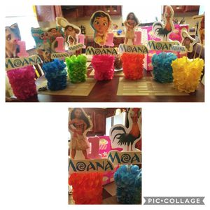 Moana birthday party supplies for Sale in Mercedes, TX