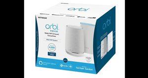 NETGEAR Orbi Mesh WiFi System with Orbi Voice Smart Speaker (RBK50V) for Sale in St. Petersburg, FL