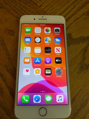 iPhone 7+128 gb unlocked like new clean IMEI work with any carrier excellent condition for Sale in Phoenix, AZ
