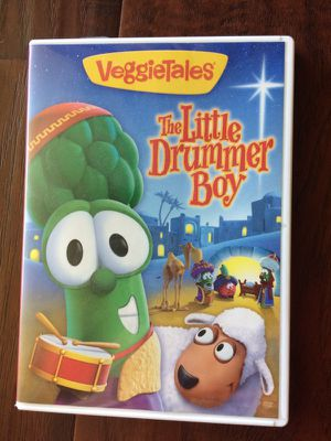 Veggie tales little drummer boy DVD Christmas for Sale in Fresno, CA