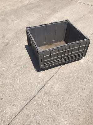 Plastic storage containers ,barely used need to sale them all , price is for each and negociable.. for Sale in Los Angeles, CA