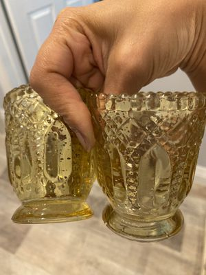 Vintage Gold Votive candle holders (36 count $2.00 each) for Sale in Glendale, CA