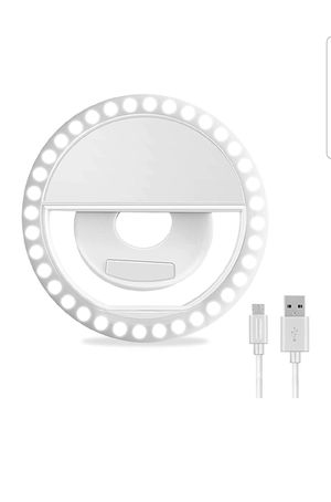 Selfie Ring Light - Rechargeable for Sale in Houston, TX