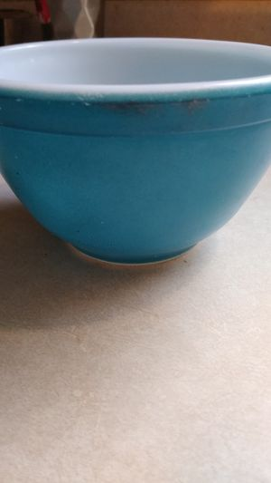 Small blue 401 Pyrex bowl for Sale in Charlotte, NC