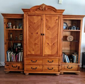Entertainment Cabinet for Sale in Apex, NC
