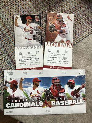 Cardinal's Tickets -Red Bird Club- for Sale in Quincy, IL