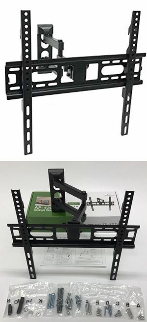 """Brand new in box Universal Wall TV Mount Fits 22"""" to 55"""" TV Sizes Swivel Full Motion Tilt Single Arm for Sale in Whittier, CA"""