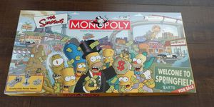 The Simpson's Monopoly Game for Sale in Zephyrhills, FL