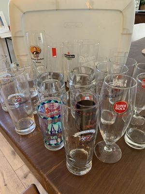 Beer glass Stein collection for Sale in Temecula, CA