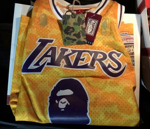 Bape Lakers Jersey for Sale in San Diego, CA