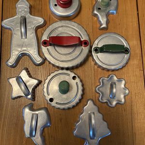 Vintage cookie cutters, great shape, $15 for all for Sale in Delevan, NY