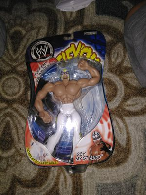 Rey mysterio flex em action figure for Sale in Baltimore, MD