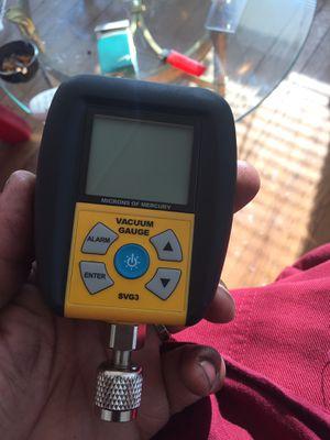 Vacuum Gauge. SVG3. Microns of Mercury for Sale in Detroit, MI