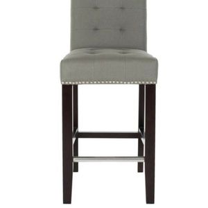 Set of 2 Safavieh Thompson 25.8 in. Sea Mist Cushioned Bar Stool for Sale in Cleveland, OH